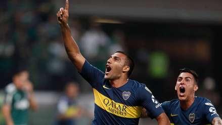 Boca Juniors vs. Palmeiras: gol de 'Wanchope' Ábila pone el 1-0 en Brasil