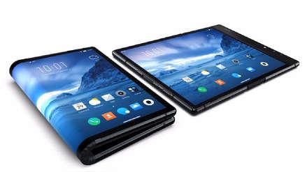 Aparece el primer teléfono con pantalla plegable, y no es de Samsung