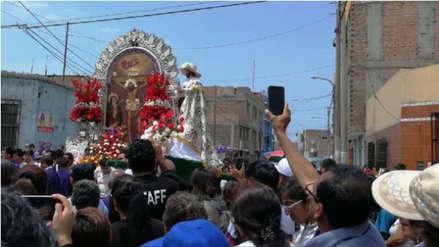 Señor de los Milagros realiza su último recorrido en Trujillo