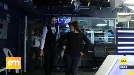Los Juanelos armaron la jarana y bailaron marinera con Patricia del Río [VIDEO]