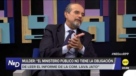 Mulder: Alan García aparece en el informe Lava Jato pero no como imputado