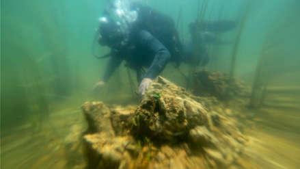 Bolivia ofrece el buceo para que turistas aprecien las ruinas sumergidas en el Lago Titicaca