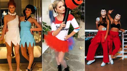 Los famosos muestran sus mejores disfraces para Halloween [FOTOS]