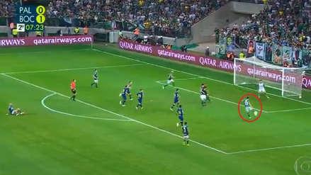 Boca Juniors vs. Palmeiras: así fue el gol de Luan para soñar con la remontada