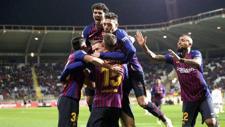Barcelona derrotó a Cultural Leonesa en la Copa del Rey