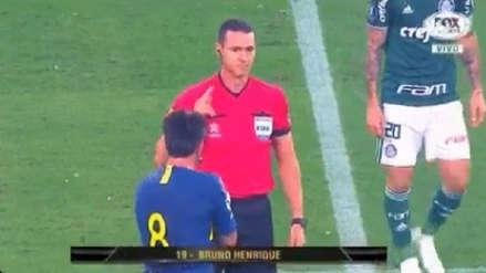 Boca Juniors vs. Palmeiras: este fue el gol de los brasileños anulado por el VAR