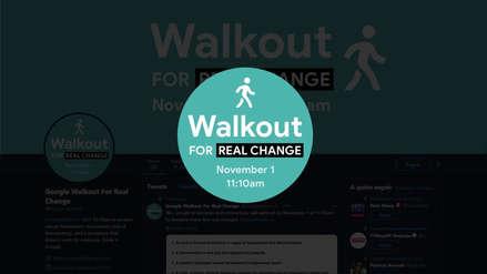 Los empleados de Google toman las calles para protestar contra el acoso sexual