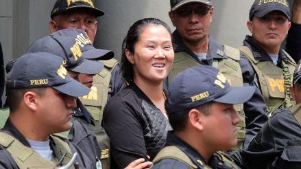 Keiko Fujimori fue trasladada al penal Anexo Mujeres de Chorrillos