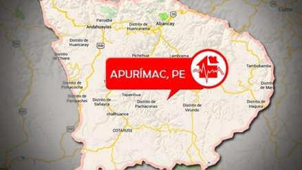 Apurímac   Un sismo de magnitud 4.0 sacudió Chalhuanca esta noche