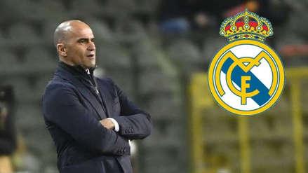 Roberto Martínez dio un sorpresivo mensaje sobre sus chances de ser técnico de Real Madrid