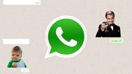La versión web de WhatsApp ya tiene soporte para los stickers