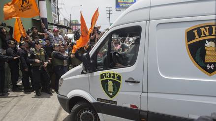 Keiko Fujimori ingresó al penal Anexo Mujeres de Chorrillos