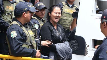 Las imágenes que dejó el traslado de Keiko Fujimori al penal Anexo Mujeres de Chorrillos