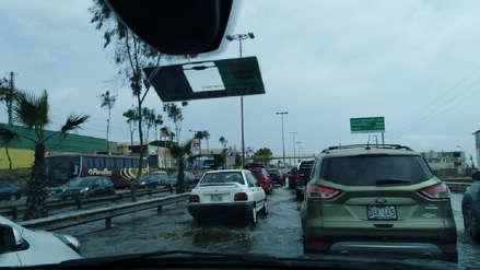 Panamericana Sur: Aniego inunda parte de la carretera