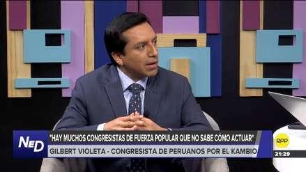 Violeta: Hay un grupo importante de congresistas de Fuerza Popular que apoyan a Salaverry y no a 'La Botica'