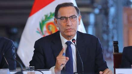 """Martín Vizcarra: """"Que quede bien claro, somos respetuosos de la Constitución y la división de poderes"""