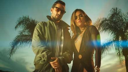 Maluma y Karol G muestran su lado más sensual en el videoclip del tema