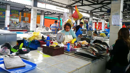 Reabren área de pescados del mercado zonal Palermo de Trujillo