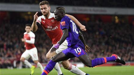 Liverpool empató 1-1 con Arsenal en un emocionante partido y es líder provisional de la Premier