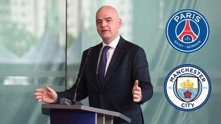 FIFA se defendió sobre las acusaciones de un pacto con el PSG y el Manchester City