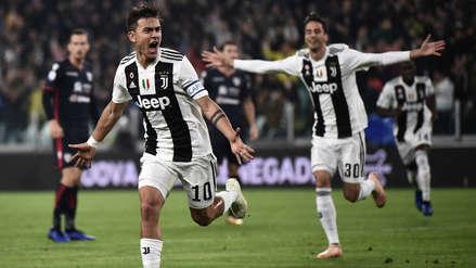 Juventus: Paulo Dybala anotó ante el Cagliari antes del primer minuto de juego