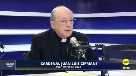 """Juan Luis Cipriani: La procesión del Señor de los Milagros es """"la más numerosa del mundo"""""""