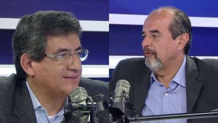 Juan Sheput y Mauricio Mulder discutieron sobre la permanencia de Pedro Chávarry [VIDEO]