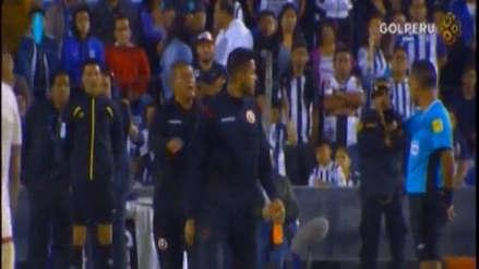 Alianza Lima vs. Universitario de Deportes: Raúl Fernández fue expulsado tras insultar al árbitro