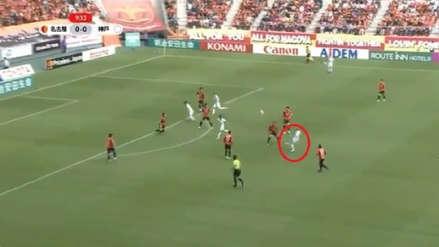 Andrés Iniesta se lució con brillante asistencia para el gol de Lukas Podolski