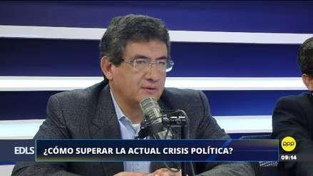 """Juan Sheput: """"En Fuerza Popular hay un choque de opiniones, no se ponen de acuerdo en muchas cosas"""""""