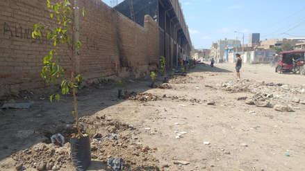 Recuperan primer espacio público que antes era botadero de basura en Leonardo Ortiz