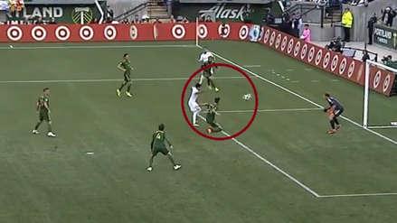 Raúl Ruidíaz y su gran definición para poner el 1-0 en el Seattle Sounders vs. Portland Timbers