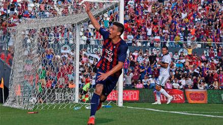 El paraguayo que marcó su primer gol como profesional a los 14 años