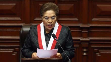 Luz Salgado es la nueva secretaria general de Fuerza Popular