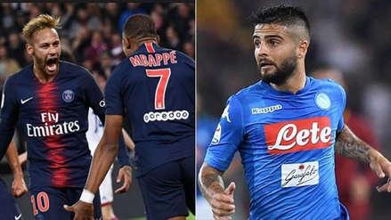 PSG vs. Napoli EN VIVO: fecha, hora y canal del partido por Champions LeagueE, EN DIRECTO