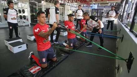 Selección Peruana empezó sus entrenamientos para amistosos con Ecuador y Costa Rica