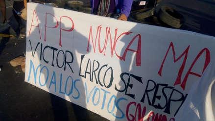 Llaman resentidos a quienes cuestionan victoria de APP en Víctor Larco