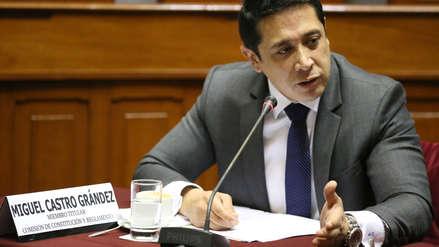 Domingo Pérez: Testigo protegido dijo que congresista Miguel Castro captó a falsos aportantes para Fuerza 2011