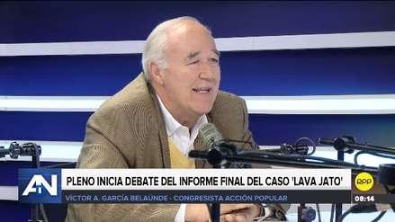 García Belaunde: El PJ puede investigar a Alan García y Keiko Fujimori aunque no sean incluidos en informe Lava Jato