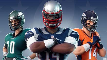 Fortnite y la NFL se asocian y nos traen skins temáticos de fútbol americano