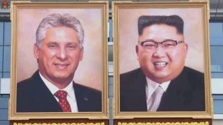 Corea del Norte desveló el primer retrato oficial de Kim Jong-un