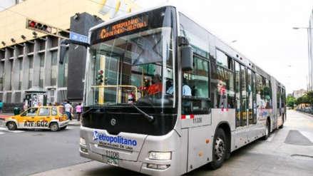 Desde este miércoles el Metropolitano incrementa el precio de su pasaje