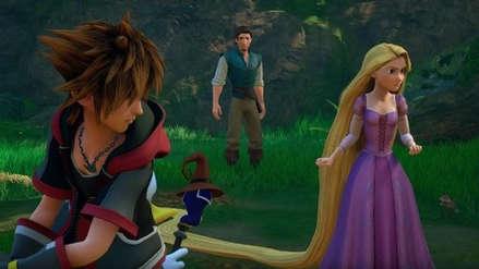 Kingdom Hearts III: nuevo trailer muestra a los personajes de 'Enredados'