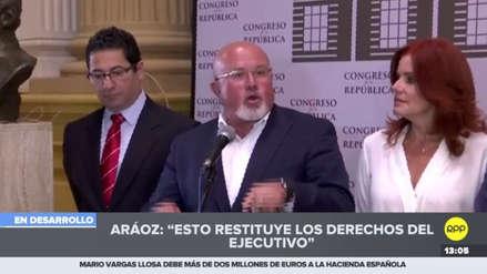 """Bruce: Tras la sentencia del TC """"desaparece la razón para oponerse a la bicameralidad"""""""