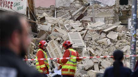 Fotos | Derrumbe de edificios en Francia dejó cuatro muertos y varios desaparecidos