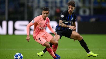 Barcelona empató ante Inter de Milán y clasificó a los octavos de final de la Champions