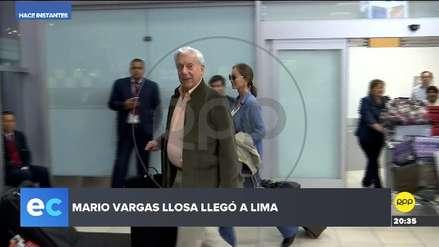 Mario Vargas Llosa e Isabel Preysler llegaron al Perú