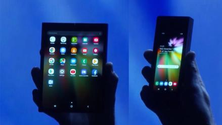 Samsung presenta su primer teléfono plegable: Infinity Flex Display