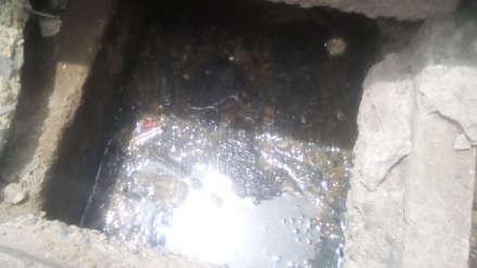 Más de 180 familias afectadas por colapso del desagüe en Salaverry