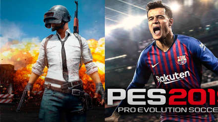 PlayerUnknown's Battleground y PES 2019 gratis para Xbox One